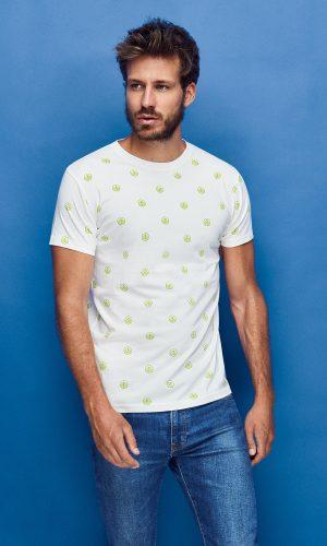 camiseta sostenible de algodón orgánico hombre Alejandro