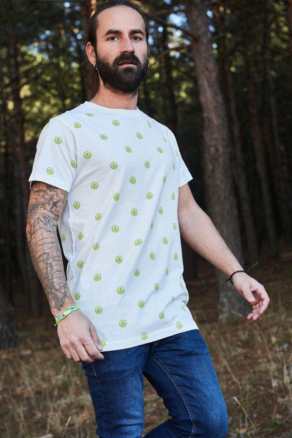 CAMISETA ESTAMPADA ALEJANDRO, camiseta para hombre y para mujer. Diseño de camiseta sostenible.