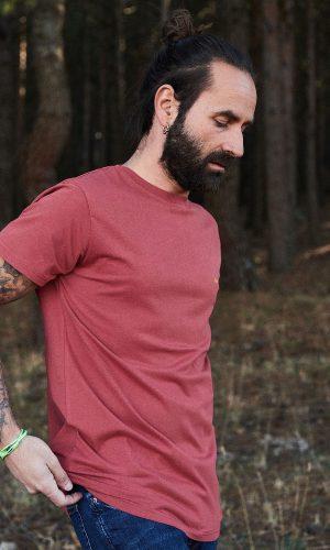 CAMISETA ESTAMPADA TARGARYEN para hombre, de la colección Green Forest, moda sostenible para hombre