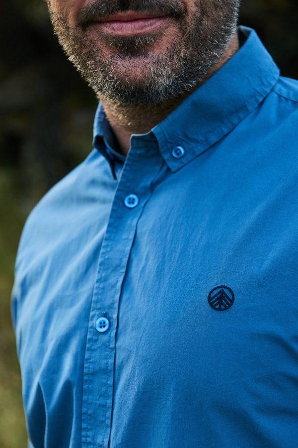 CAMISA LISA STELLAR camisa fabricada en algodón orgánico.