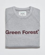 SUDADERA GRIS GREEN FOREST