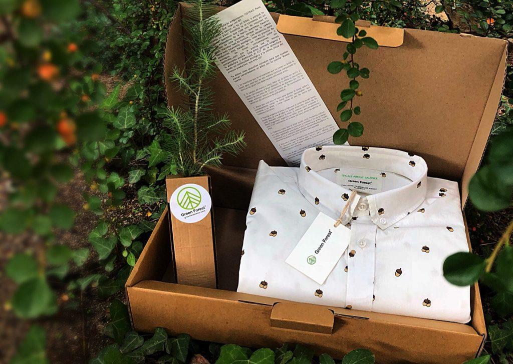 árboles plantados gracias a nuestros clientes Green Forest Wear