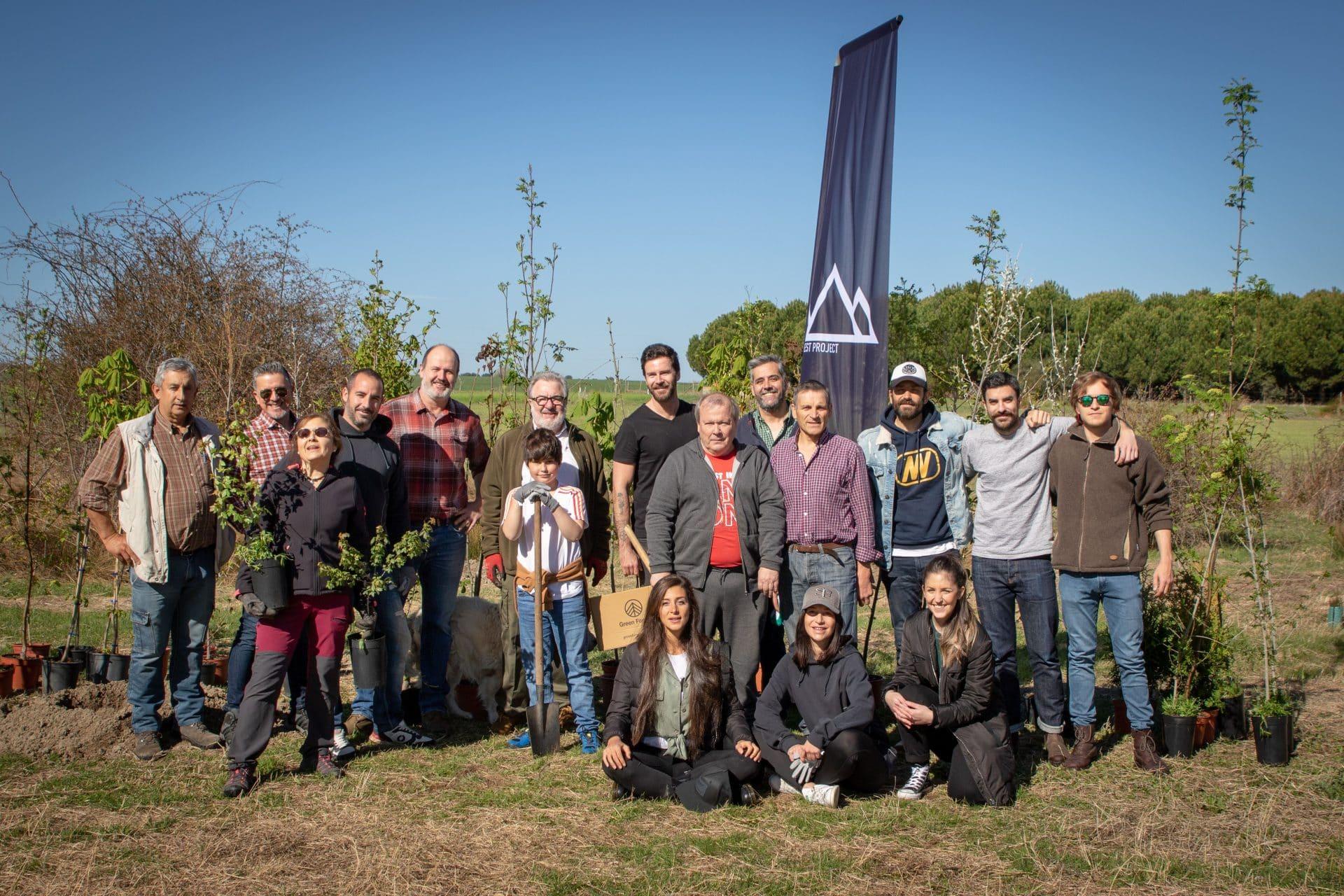 equipo reforestacion marugan segovia