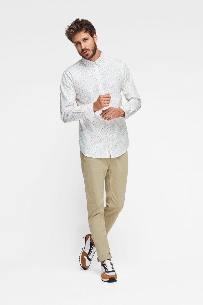 camisa para hombre colección ropa ecológica green forest wear