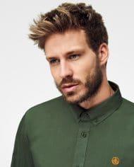 camisa-sostenible-para-hombre-rifle-green