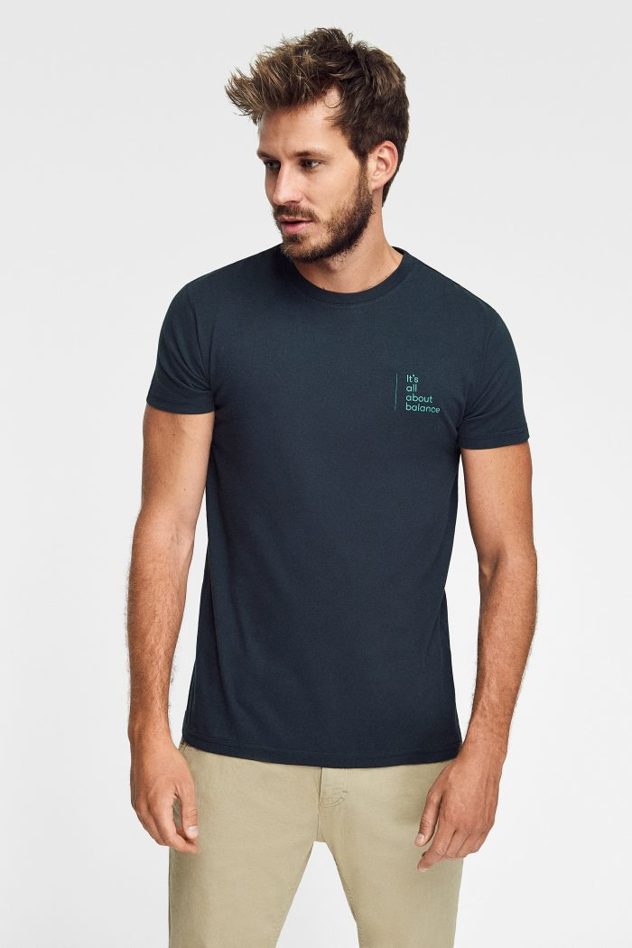 camiseta sostenible para hombre green forest wear Pirate Green