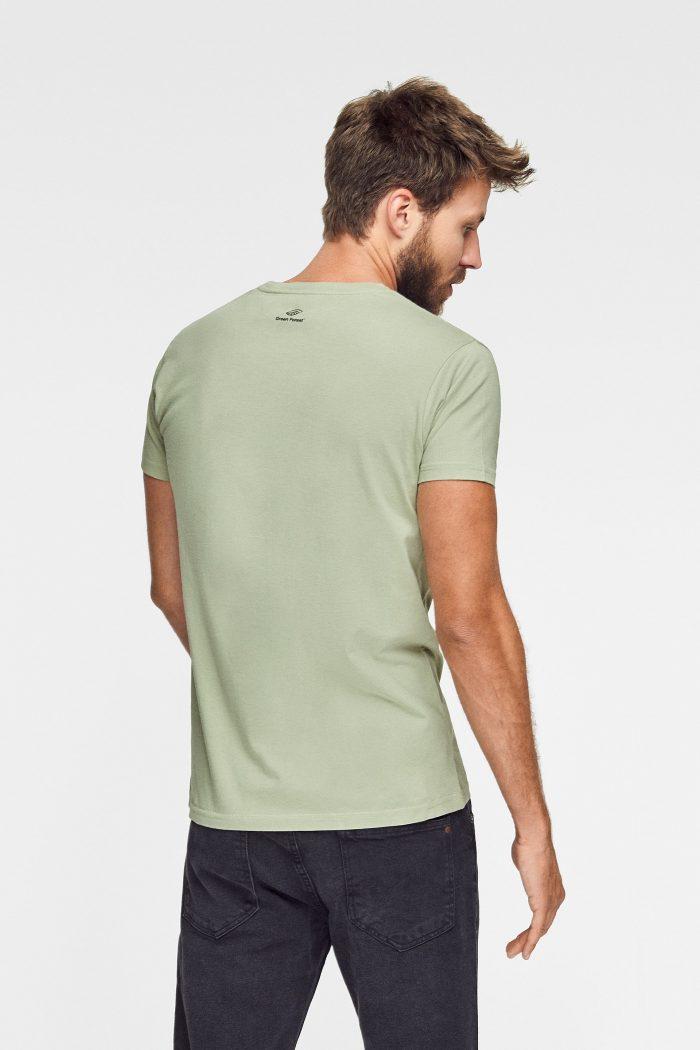 camiseta balance green forest wear