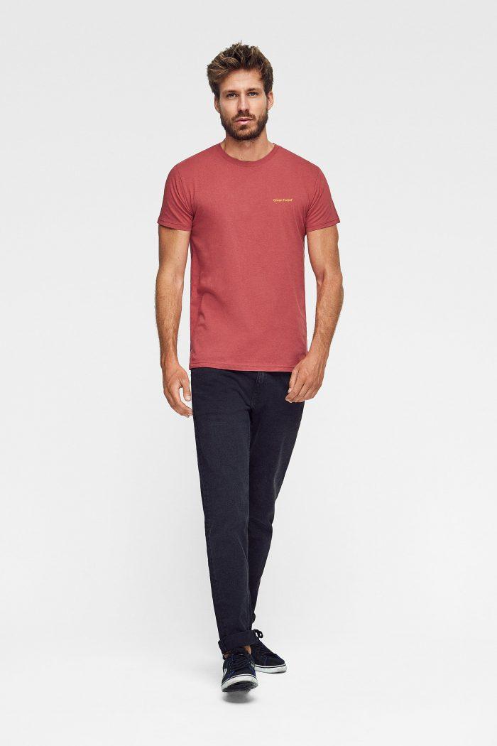 camiseta de algodón orgánico targaryen color teja
