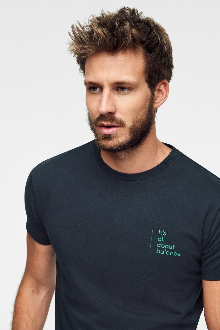 camiseta de algodón orgánico Pirate Green