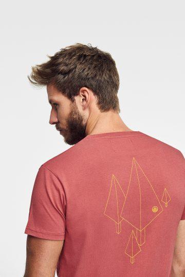 camiseta estampada targaryen de algodón ecológico