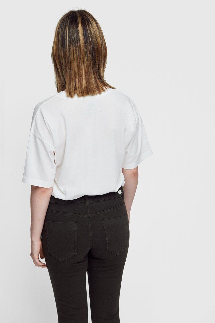 camiseta tropic de mujer hecha de algodón ecológico