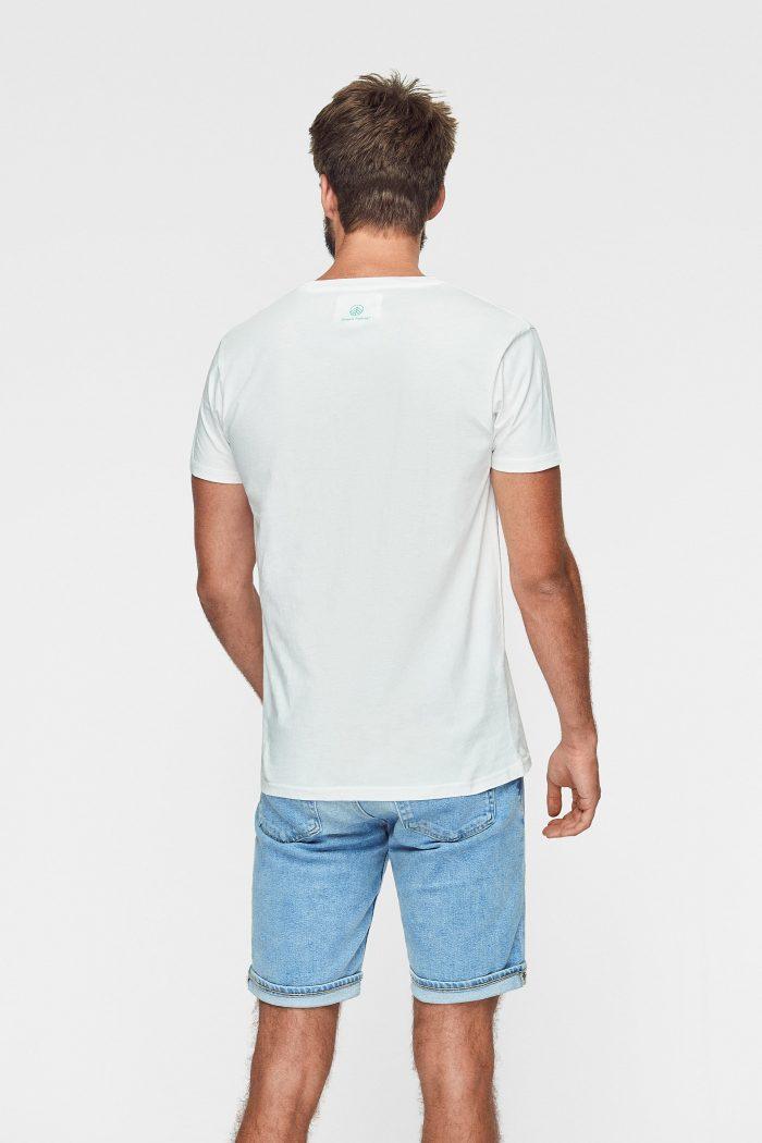 camiseta sostenible green forest wear