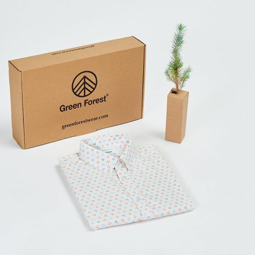 packaging ecológico y regalo un árbol por cada compra