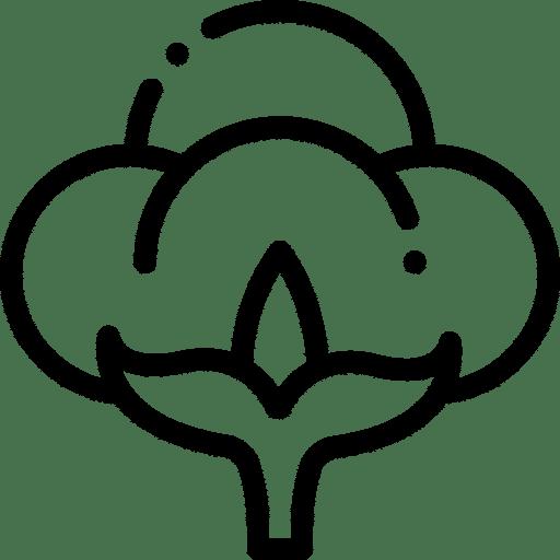 ropa de algodón orgánico Green Forest Wear