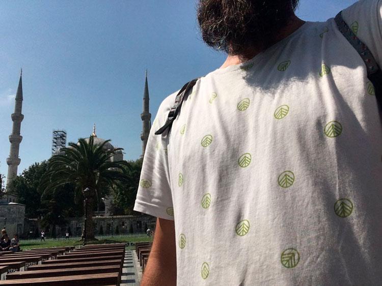 En Santa Sofía con Green Forest Wear