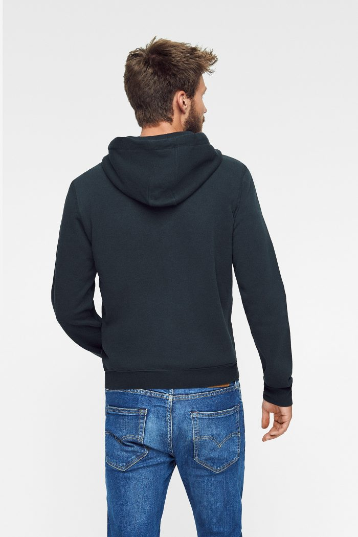 hoodie zipper nature para hombre