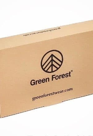 Caja regalo reciclada green forest wear