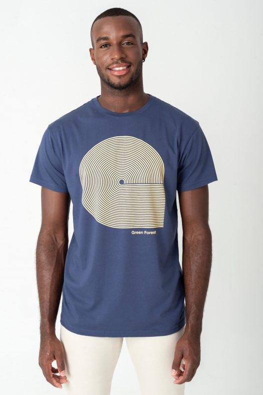 Camiseta ecológica hecha de algodón orgánico certificado