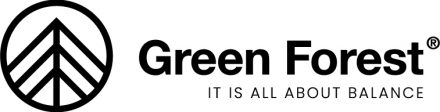 logo imagen green forest wear marca moda sostenible