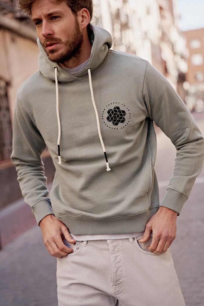 tienda de ropa ecológica para hombre